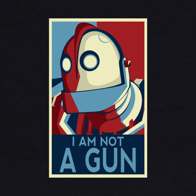 I am not a gun