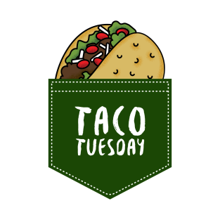 c25e0c01a Taco Tuesday T-Shirts | TeePublic