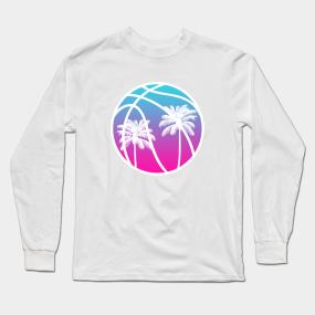 new style e86ee 45ff9 Miami Nights Jersey Long Sleeve T-Shirts | TeePublic