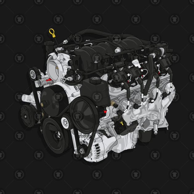 LS1 V8 engine