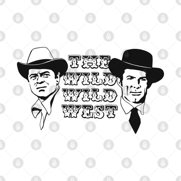 The Wild Wild West TV Series black