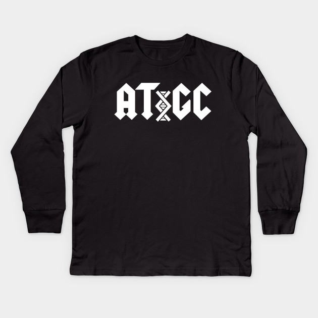 a2949bc3034 AC DC DNA - Acdc - Kids Long Sleeve T-Shirt