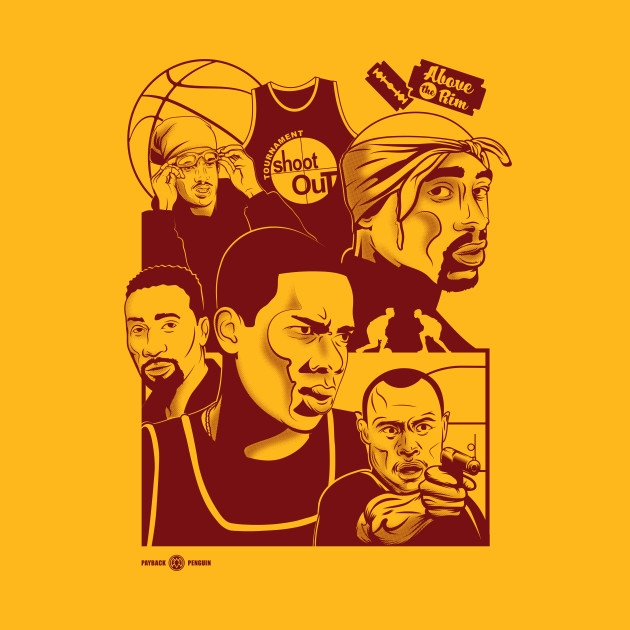 Above the Rim - Red