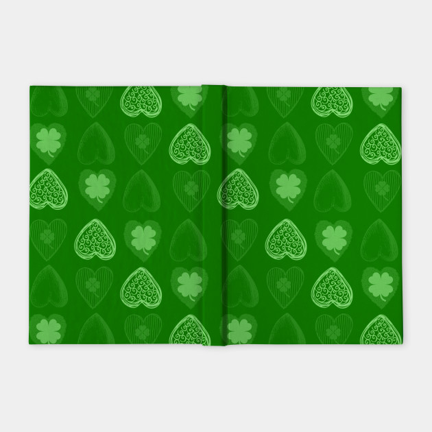 Shamrock Vintage Pattern Green
