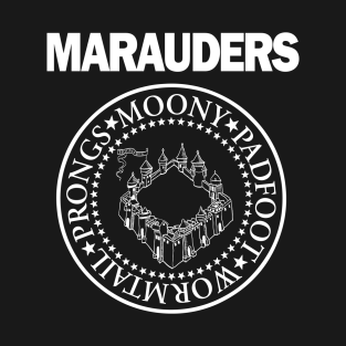 The Marauders t-shirts