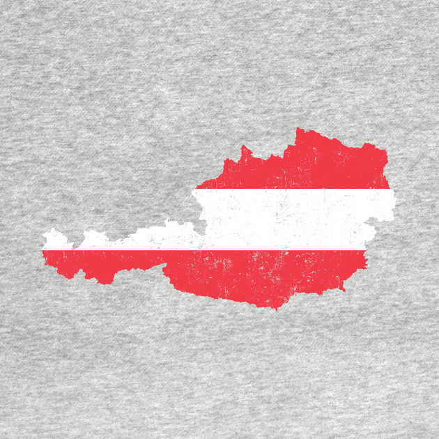 Minimal Austria Österreich City Map - Austria - Kinder Long Sleeve ...