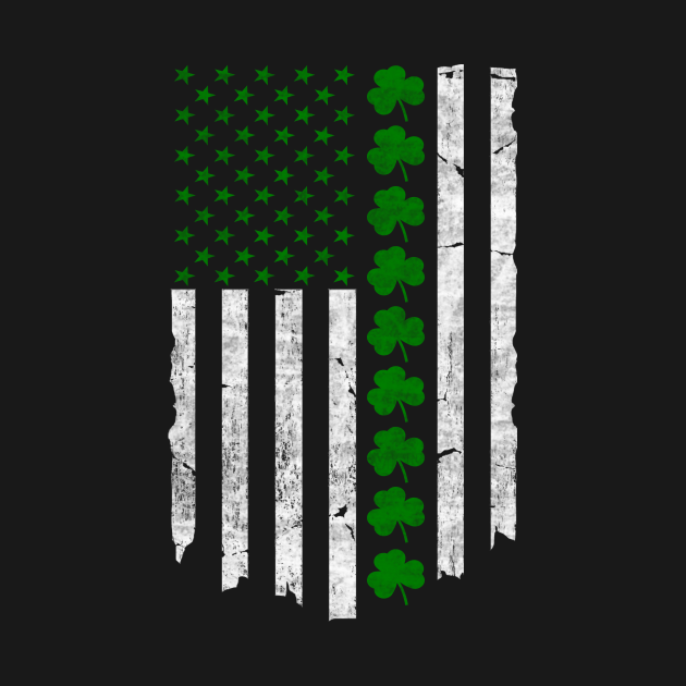 St. Patrick's Day IRISH AMERICAN FLAG
