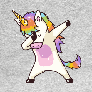 Dabbing Unicorn Shirt Dab Hip Hop Funny Magic t-shirts