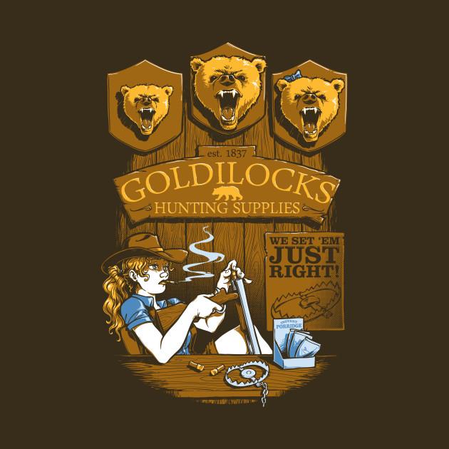 Goldilocks' Hunting Supplies