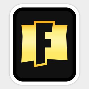 Naklejki Fortnite Logo Teepublic Pl