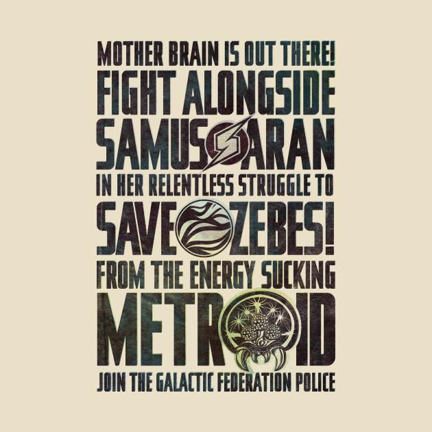 Save Zebes! T-Shirt