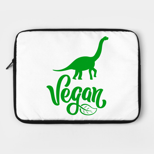 Vegetarian Dinosaur Vegetarian Dinosaur Laptop Case Teepublic