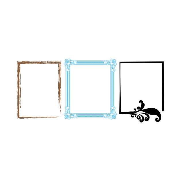 LIMITED EDITION. Exclusive Artistic Frames 1 - Artistic Frames 1 - T ...