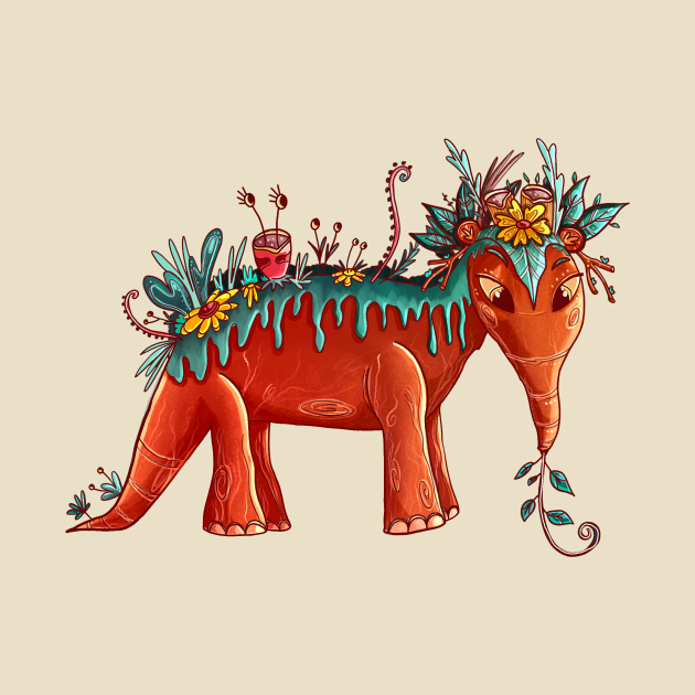 The Floral Anteater