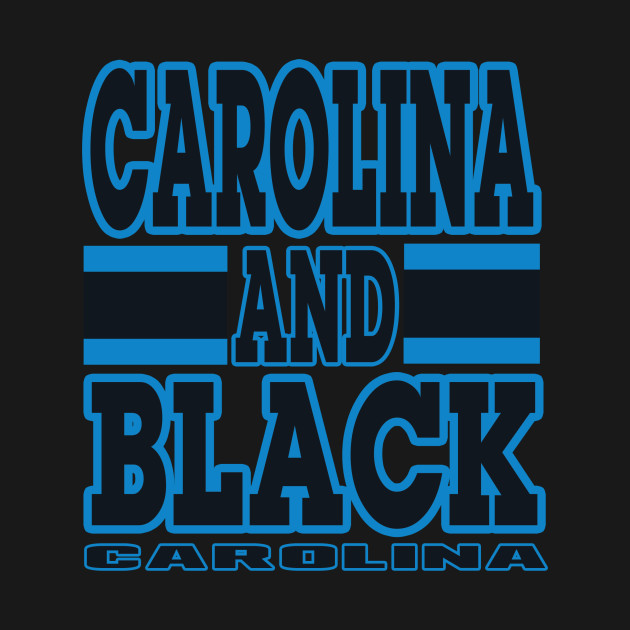 Carolina LYFE Carolina and Black True Football Colors!