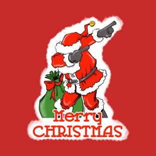 Dabbing Santa t-shirts