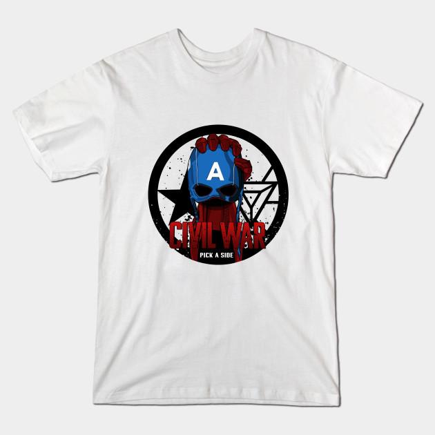 T Shirts Captain America Civil War Teepublic