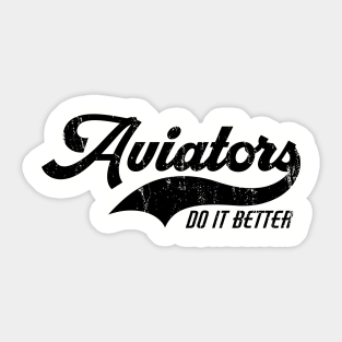 Gifts For Aviation Enthusiasts Stickers