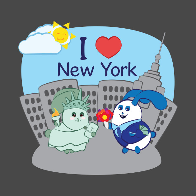 Ernest and Coraline | I love New York