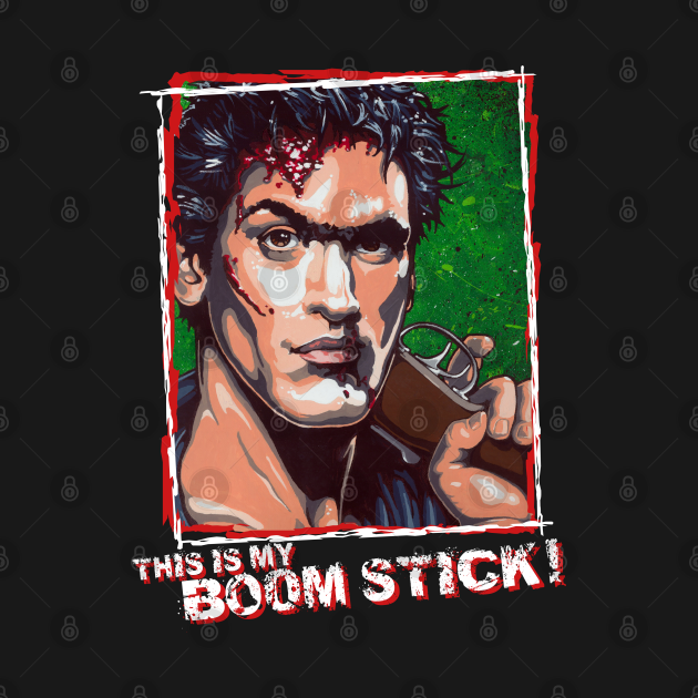 Ash from The Evil Dead BOOMSTICK version