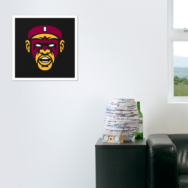 e33db8e5f553 Ultimate Warrior Lebron - Lebron James - Posters and Art Prints ...