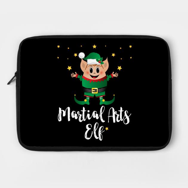 Martial Arts Elf Christmas Elves Xmas Matching Family Group