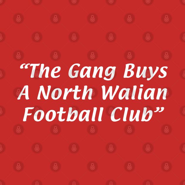 The Gang Buys A North Walian Football Club