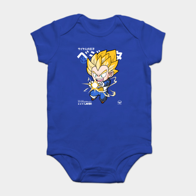 e5049cb54 Chibi Final Flash - Vegeta - Onesie | TeePublic