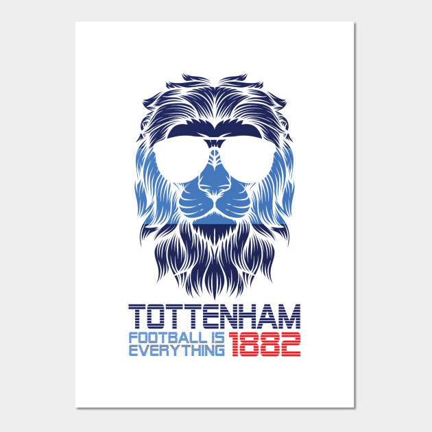 Tottenham Hotspur Fc Club Crest Poster Official Football 12 Wall Gift