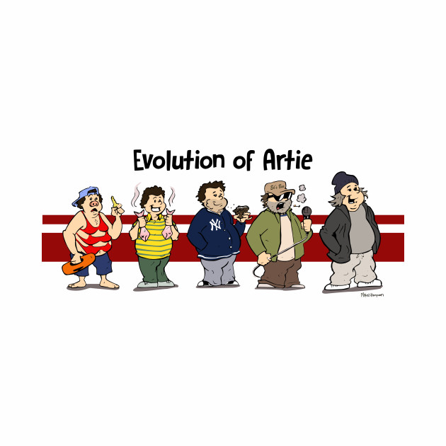Evolution of Artie Lange