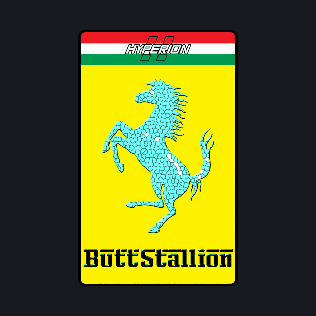 Butt Stallion (Red)
