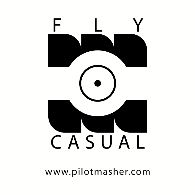 Fly Casual Logo and website