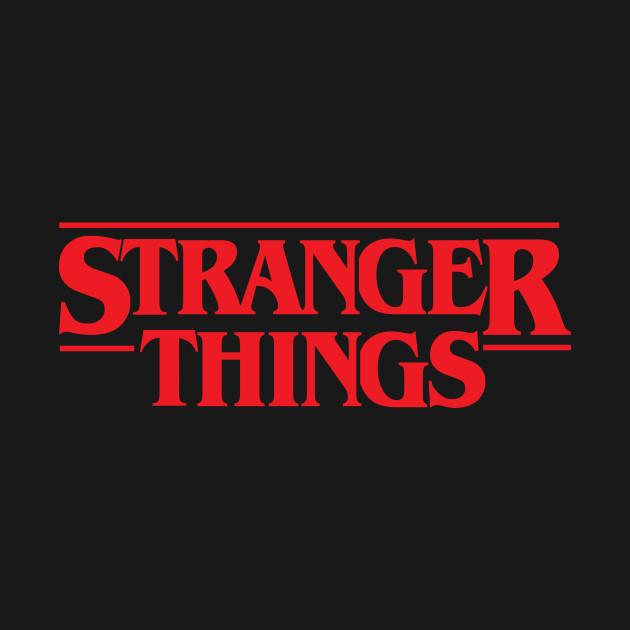 STRANGER THINGS SOLID LOGO - Stranger Things - T-Shirt ...