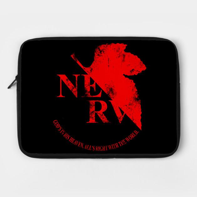 Grunged NERV Logo