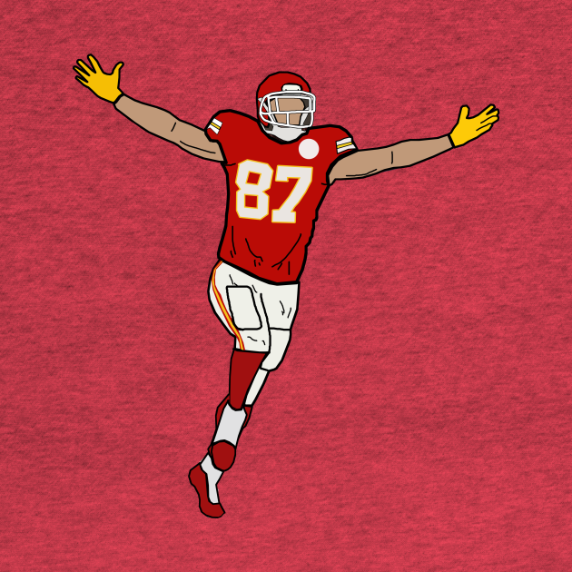 Travis Kelce Touchdown Celebration - Kansas City Chiefs
