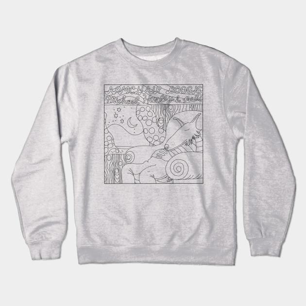 1f36abb0 ARMCHAIR BOOGIE - Michael Hurley - Crewneck Sweatshirt | TeePublic