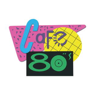 Cafe 80s – Back to the Future t-shirts