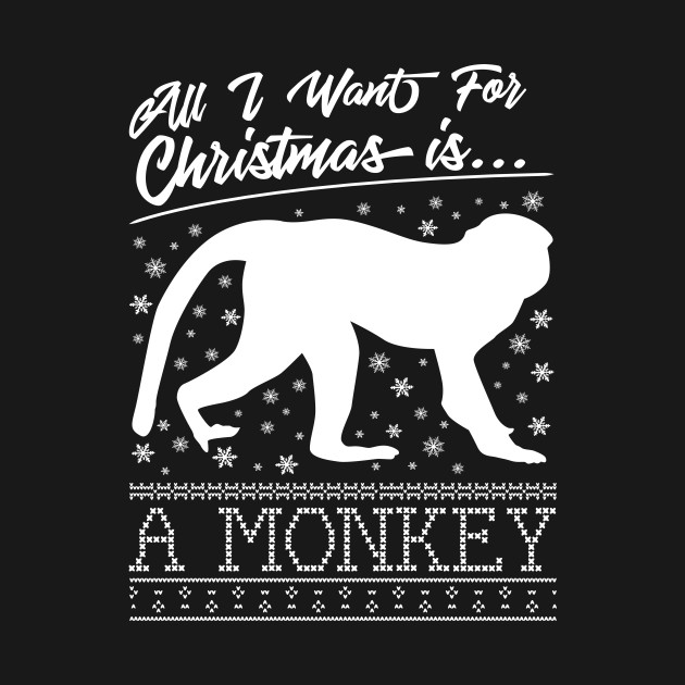 All I Want For Christmas Is A Monkey Knit Pattern