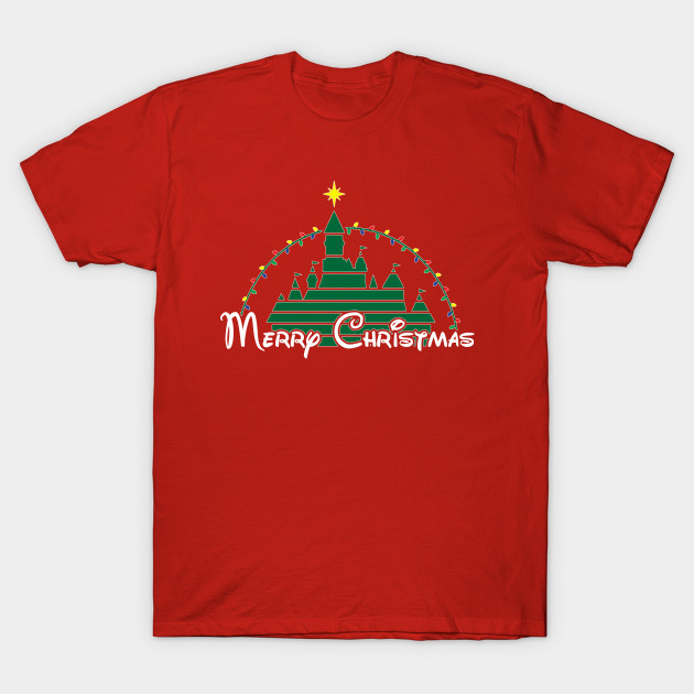 Merry Christmas at the happiest place on earth T-Shirt