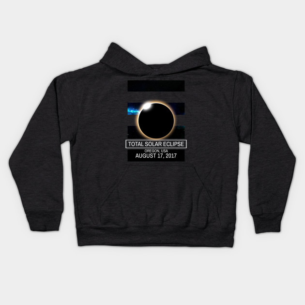 Oregon Eclipse 2017 U.S.A Solar Eclipse Blackout T-shirt