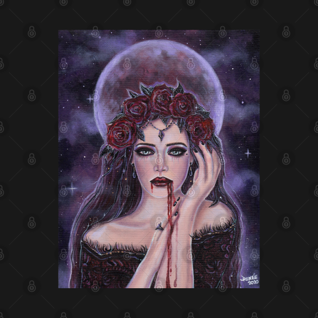 The tormented moon vampire by Renee Lavoie