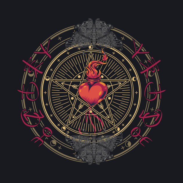 Love spell of the wiccan