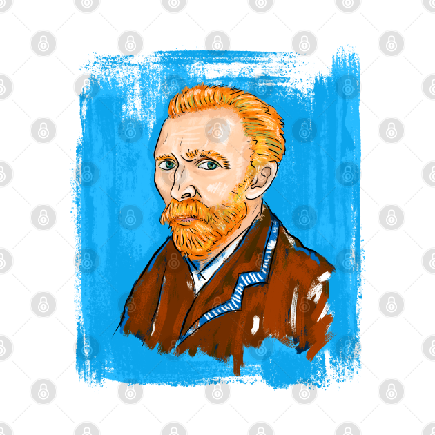 Denizko Art Van Gogh Self Portrait