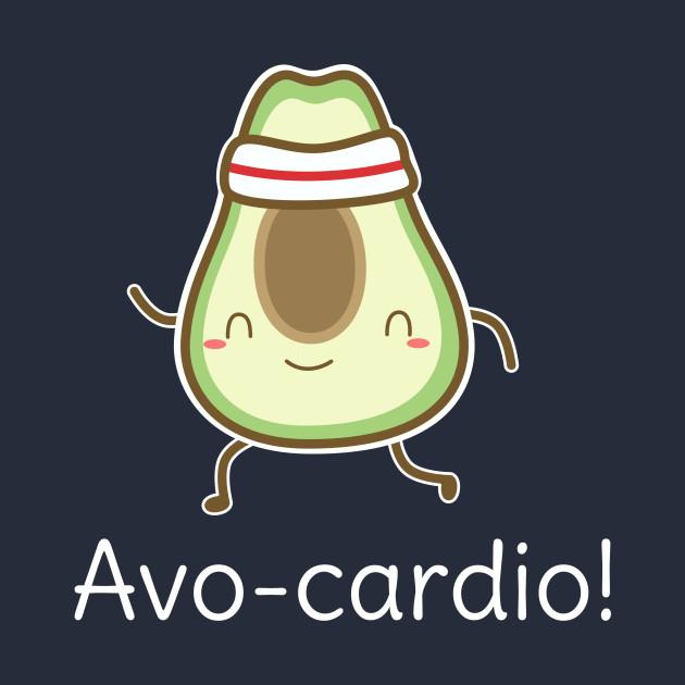 Funny Avocado Cardio Pun T-Shirt