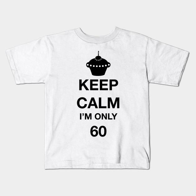 Happy 60th Birthday Kids T Shirt