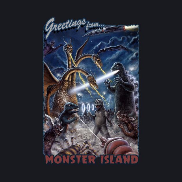 Godzilla Monster Island Kaiju Battle