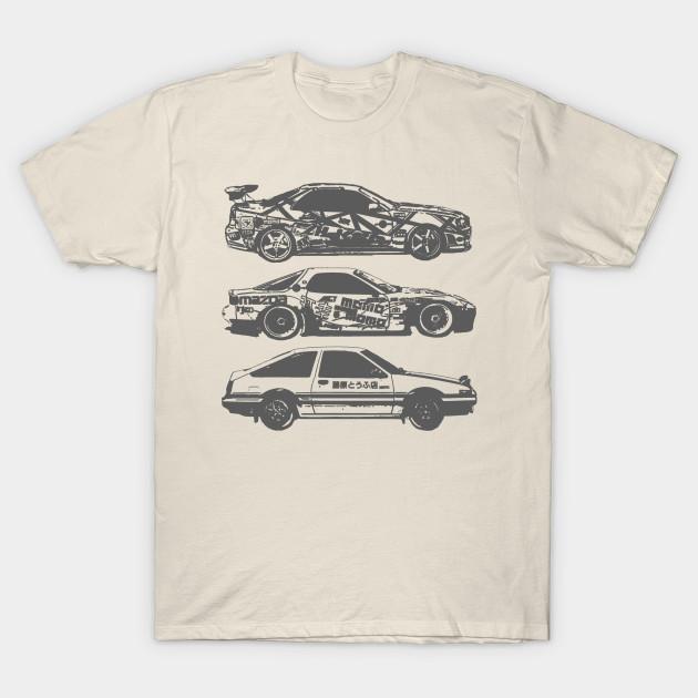 7bb44403f1 JDM Cars - Jdm - T-Shirt | TeePublic