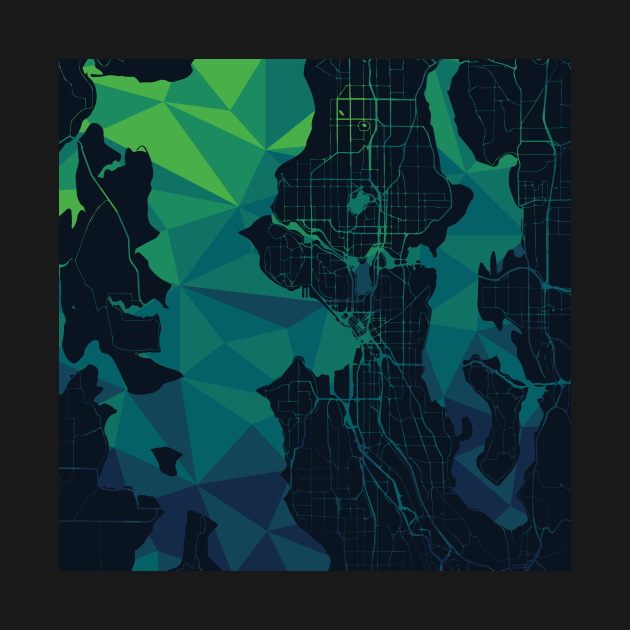 Seattle Geometric Map