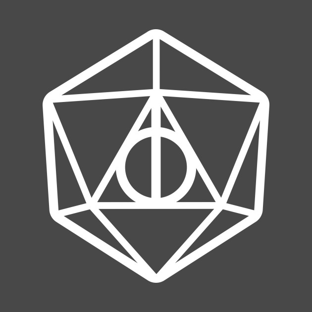 Harry Potter Deathly Hallows Dungeons & Dragons d20