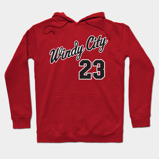 Windy City 23 - Chicago Bulls - Hoodie  376194b0ccfa